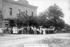 Buster Brown Show, Star Mercantile, Alta Vista, Kansas