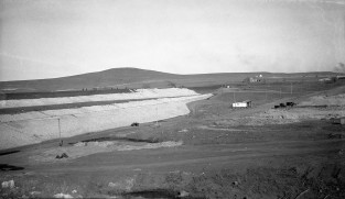 Lake Wabaunsee Dam Under Construction