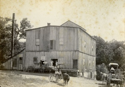 Flour Mill - Alma, KS - c.1885