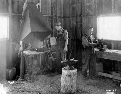 Kansas Emergency Relief Committee Blacksmith Shop