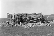 Construction of Caretaker's House, Lake Wabaunsee