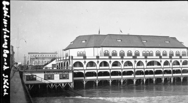 The Pine Street Pier, Long Beach, California - 1914