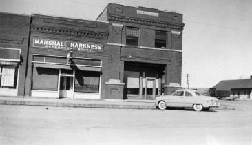 Eskridge State Bank, Harkness Department Store, Eskridge, Kansas