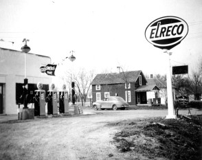 Elreco Gas Station, Eskridge, Kansas