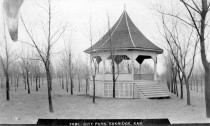 Gazebo, City Park, Eskridge, Kansas - 1913