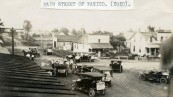 Intersection of Newbury and Main Streets, Paxico, Kansas - c.1910