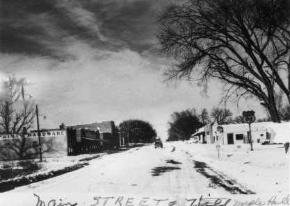 May Snowstorm at Maple Hill, Kansas, 1950