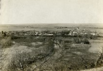Bird's-eye View of McFarland, Kansas - 1918