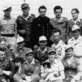 Prisoners of War in Uniform at Lake Wabaunsee Camp