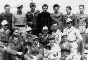 Prisoners of War in Uniform at Lake Wabaunsee Camp