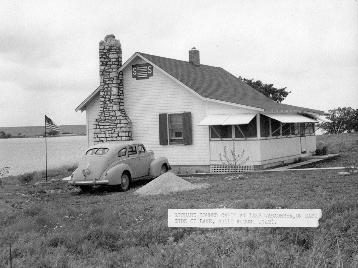 Richard Sommer Cabin, Lake Wabaunsee, Kansas