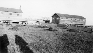 Construction of Barracks Buildings, Lake Wabaunsee, Kansas