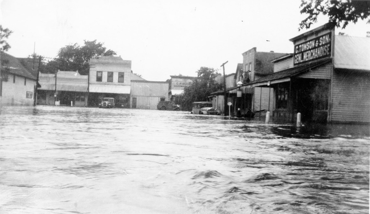 Flood of 1935, Paxico, Kansas