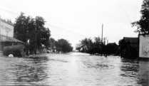 Flood of 1935 Newbury Street, Paxico, Kansas