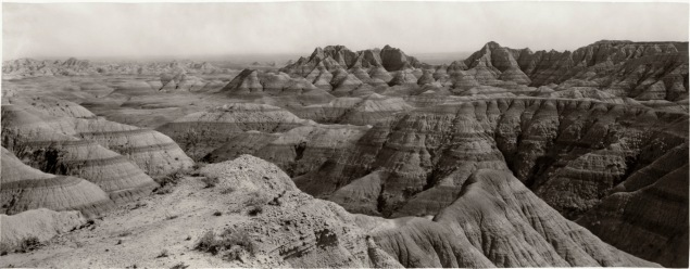 Louis Palenske made two photographic excursions to the Badlands in South Dakota between 1928 and 1937.