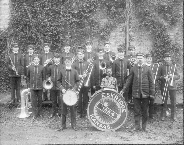 ESKRIDGE BAND c. 1884