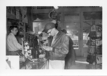 This rare interior view of Harkness' Department Store, located at 103 South Main Street in Eskridge, was taken in the mid-1950s.