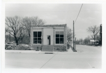 Sorrick's Leather Repair shop was located on the northeast corner of 3rd Avenue and Main Street where the Rush In is located today.
