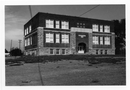 The Eskridge Grade School was constructed in 1921. Originally, the building only had the basement and main floor, and the top floor was added a few years later.