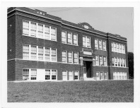 Eskridge Rural High School District No. 5 opened in 1921 after the Eskridge High School burned in 1920.
