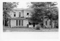 Originally built as a bible college, this Eskridge building housed the Eskridge Hotel in the post-World War II era.