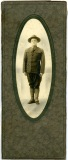 Preston Dunn, seen here in his military uniform, served in the United States Army overseas during World War I.