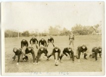 "Eskridge Rural High School football team, ""fall of 1926."""