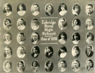 Eskridge Rural High School, Class of 1928