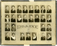 Eskridge Rural High School, Class of 1937