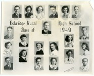 Eskridge Rural High School, Class of 1949