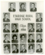 Eskridge Rural High School, Class of 1966