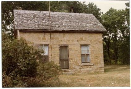 "Home of Edgar ""Slim"" Sargent, Dover, Kansas, summer 1984"
