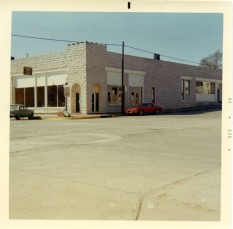 The Minnie Palenske Zwanziger Memorial Museum opened on October 27, 1968 in the former Meyer building, located at the southwest corner of West 3rd and Missouri Streets in Alma, Kansas. Photo courtesy the Palenske family.