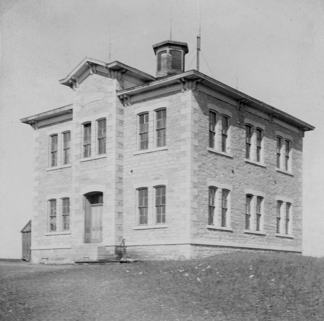 Alma School high school on hill