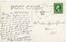 Dover postmark, October 4, 1912.