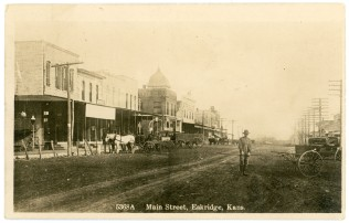 This view of Main Street in Eskridge dates from 1913.