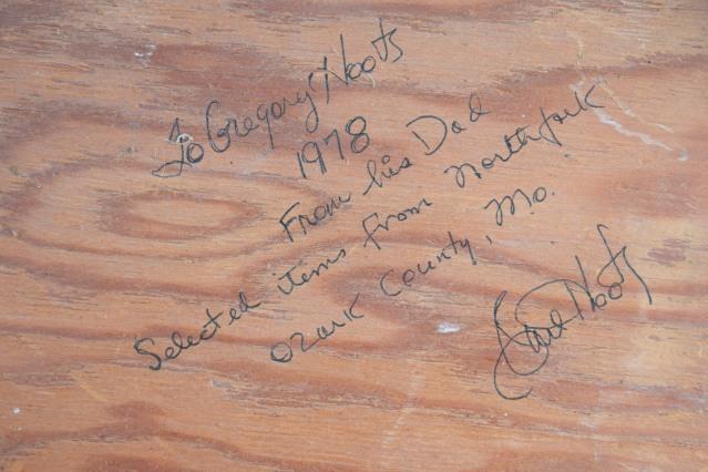 Carl F  Hoots Arrowhead Collection – Flint Hills Special