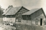 """This photo from May of 1970 shows the """"Crazy House"""" which featured slanted floors, walls and ceilings along with """"smoke and mirrors"""" left visitors mildly disoriented."""