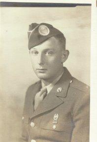 Private First Class Charles E. Barnhart, September, 1943.