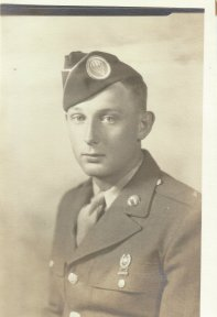 Private First Class Charles E. Barnhart, September, 1943.