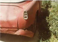 Rust was claiming the steel portions of this 1956 Alfa Romeo Sprint Veloce when I purchased it in 1983.