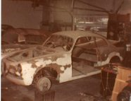The 1956 Alfa Romeo Sprint Veloce underwent extensive body work at Allen Auto Restorations in Topeka, Kansas.