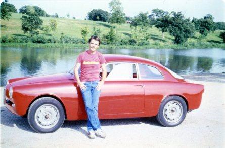 The first day I drove the Alfa Romeo included a photo shoot at Lake Shawnee, Topeka, Kansas. Photo by Lynn Wilson.