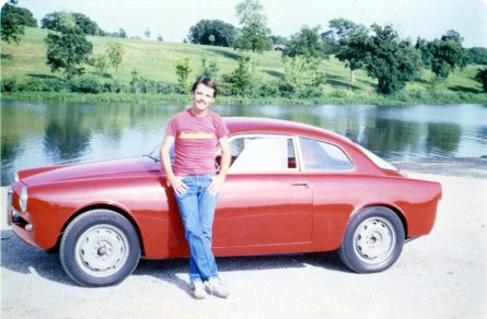 The first day I drove the Alfa Romeo included a photo shoot at Lake Shawnee, Topeka, Kansas. Photo by Lynn Wilson.