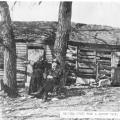 Aug and Malinda Falk home c1905