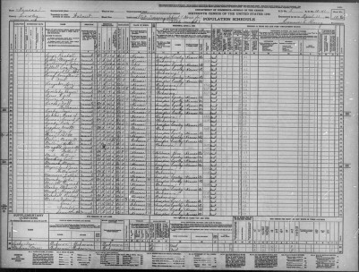 Lines 48 and 49 of the 1940 census of Cowley County, Kansas lists Lois and Ruth Longaker as Inmates at the State Training School (Home for Feeble-Minded).