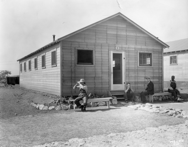 KERC barracks number 8 c1934 copy