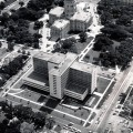 1961—ATLAS MISSILE 548-1 PASSING TOPEKA CAPITAL ON WAY TO ROCK CREEEK—1