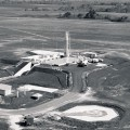 1961—ATLAS MISSILE AT FORBES SITE–MISSILE IN UPRIGHT POSITION