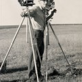 1961—DAVE PHOTOGRAPHING MISSILE TEST